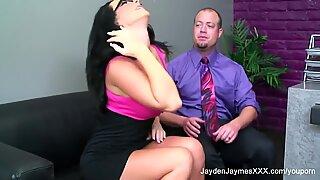 Big tit Jayden Jaymes gets fucked hard